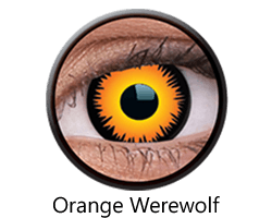 lentillas orange-wolf halloween opticagracia.es