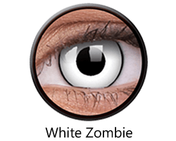 lentillas white-zombie halloween opticagracia.es