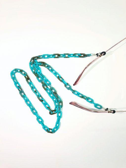 cadena gafas verde eslabón opticagracia.es